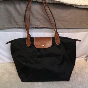 Black Longchamp Bag Le Pliage Tote